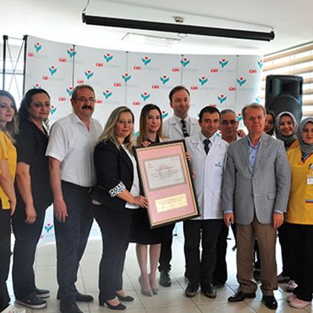Can'dan Türkiye'deki Özel Hastaneler İçinde Bir İlk!
