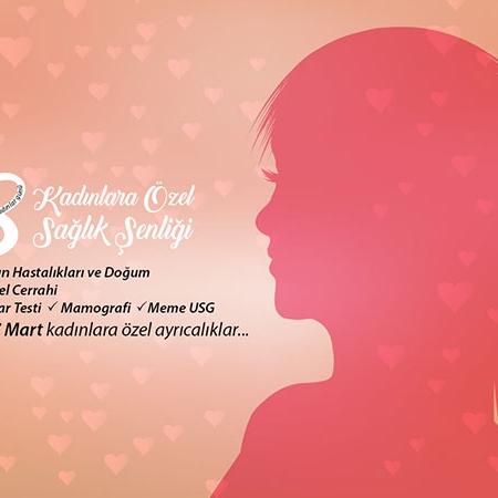 8 Mart Kadın Sağlık Şenliği Başlıyor...
